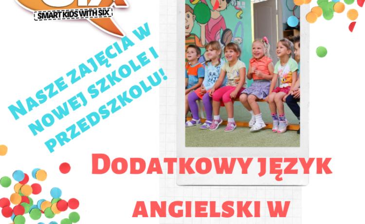 W roku szkolnym 2020/21 zaczynamy zajęcia w nowej Szkole Podstawowej oraz Przedszkolu w PRZYLEPIE !
